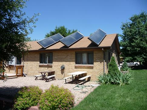 Energy Environmental Corporation solar thermal panels