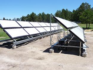 EEC solar thermal array